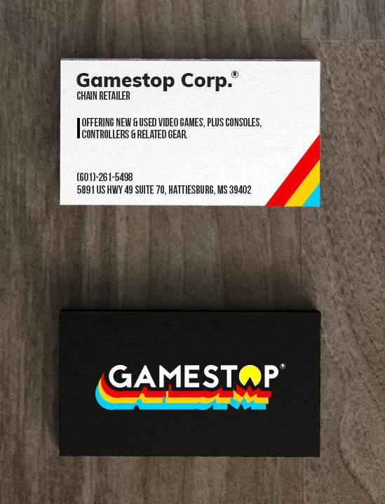 Gamestop Logo Re Design On Behance