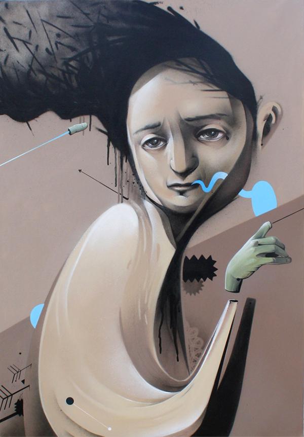 canvas spray aerosol mahow dedo lienzo cuadro zaragoza first hand texture SAY