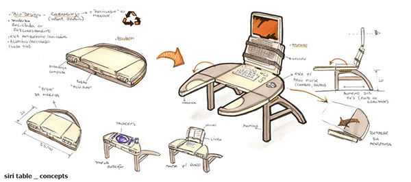 Charmant Lap Table Fun Design Concept