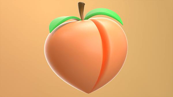 PEACH 3D Model - High Quality