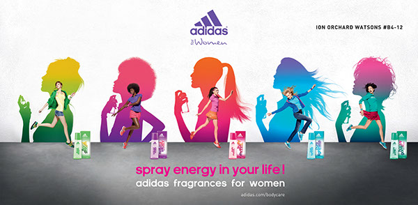 Adidas Promotion Wall Space at ION on Behance