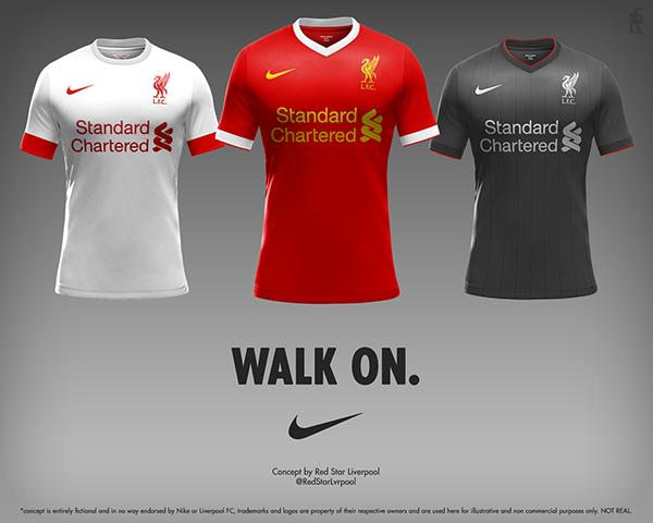 bf779af02e6 Liverpool FC x Nike on Behance