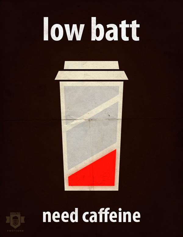 Coffee low batt caffeine