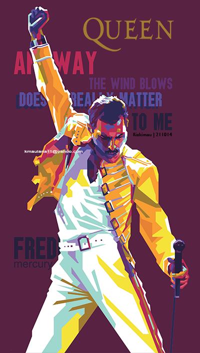 Freddie Mercury Arte