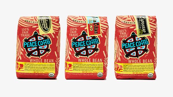 Peace Coffee Rebrand