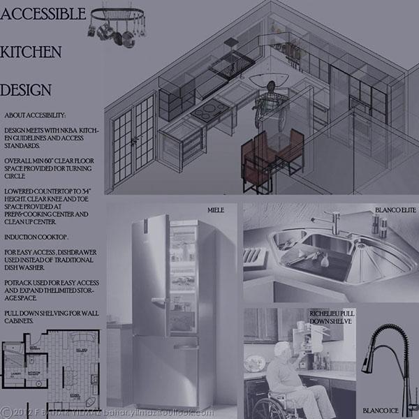 Accessible Kitchen Bath Design On Behance