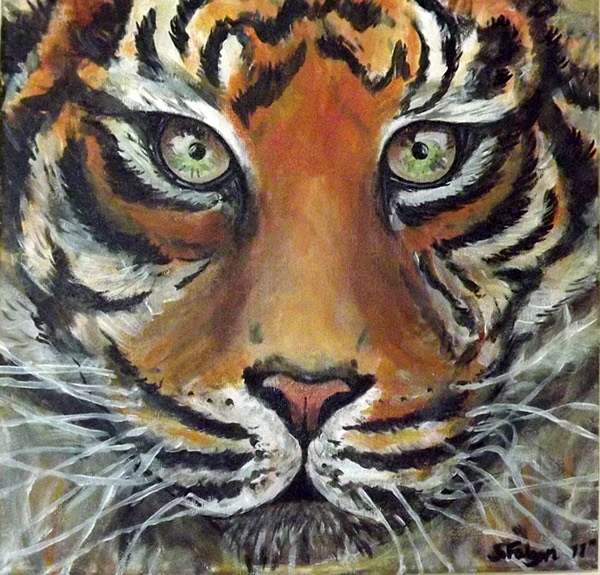 Acrylic Paintings-Animals on Behance