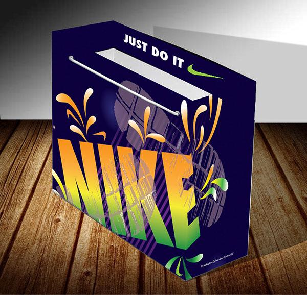 Nike Shopping Bag on Behance
