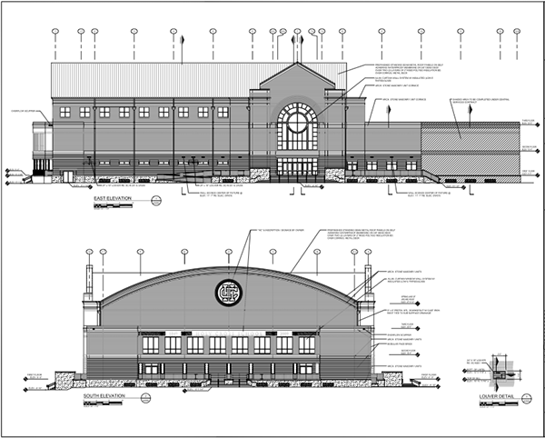 Holy Cross School Gymnasium New Orleans On Behance