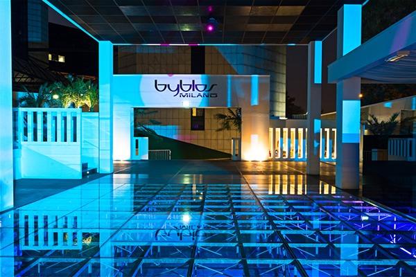 lounge restaurant club milano byblos