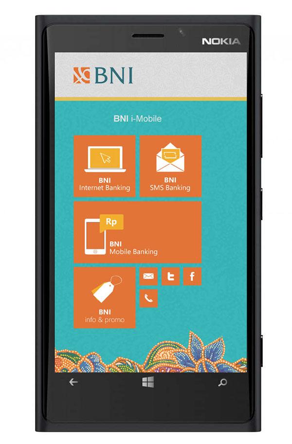 BNI i-Mobile on Behance
