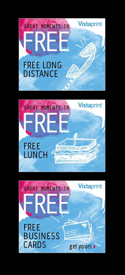 Vistaprint Online Display Banners On Behance