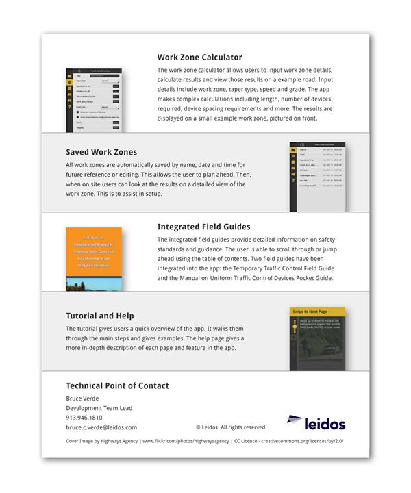 organizational layout for application development