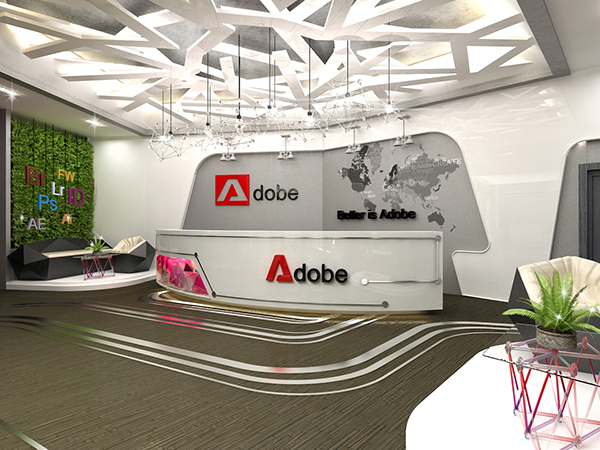 Adobe Office In Vietnam (Graduation Project) On Behance