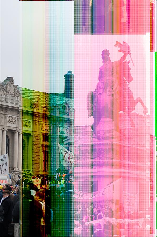 Glitch experimental textedit color