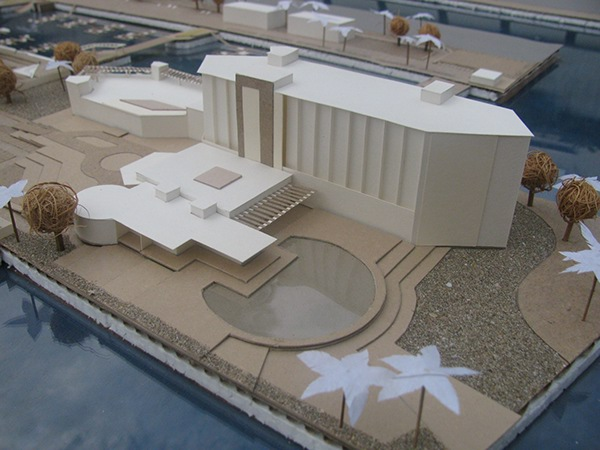 architectural models on student show