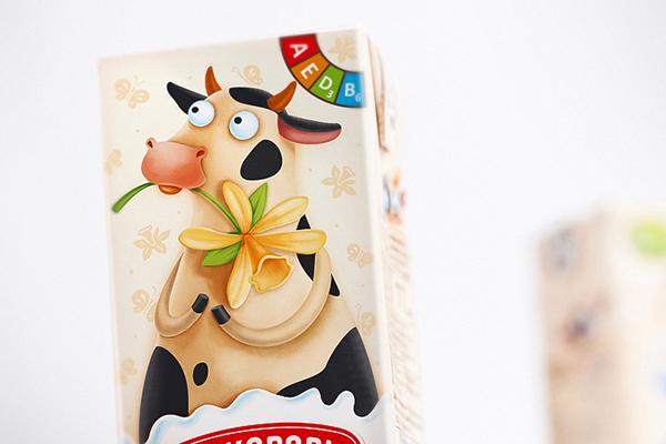 cow Cat cocktail milk strawberry banana vanilla chocolate kids
