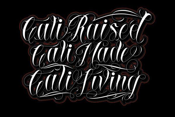 Script lettering coreldraw