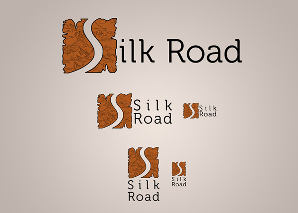 Silk Road [logo + web] on Behance