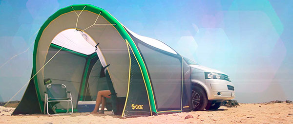 GYBE VW bus tent T5 Fuerteventura tom court jaime herraiz angela peral Kitesurfing Kiting kiteboarding summer volkswagen Island vacation