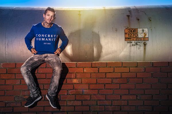 Matt Geeling Photography Shane Burnell Concrete Humanity cape town
