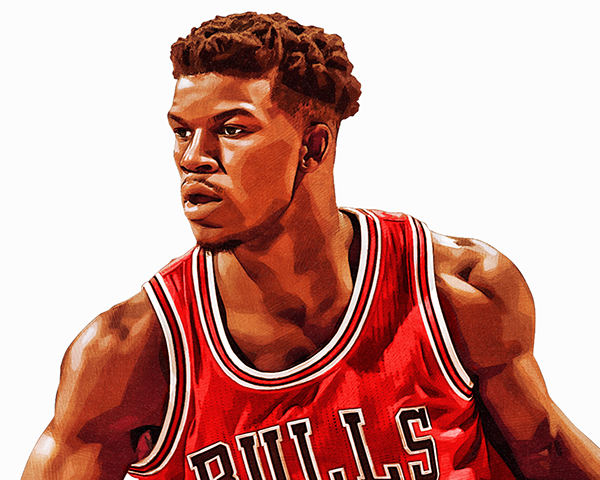 Jimmy Butler Bulls On Behance