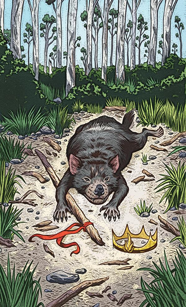 Animal Tarot Cards: Animal Totem Tarot Set 2 On Behance