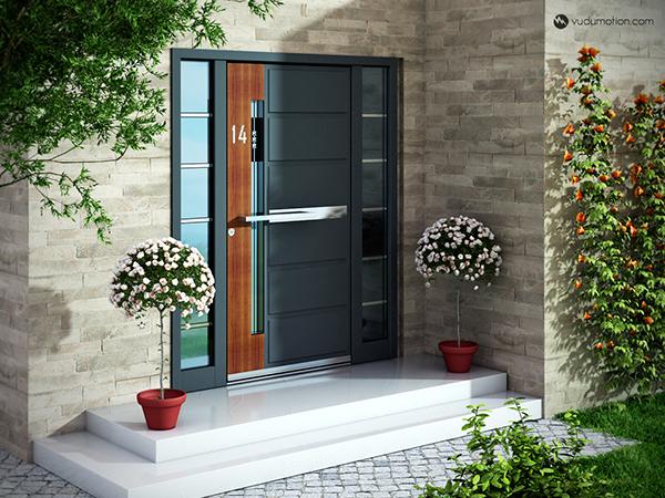 Door visualization on behance for Door visualizer