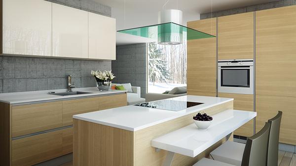Zurich Kitchen Model   Inset Handle Design