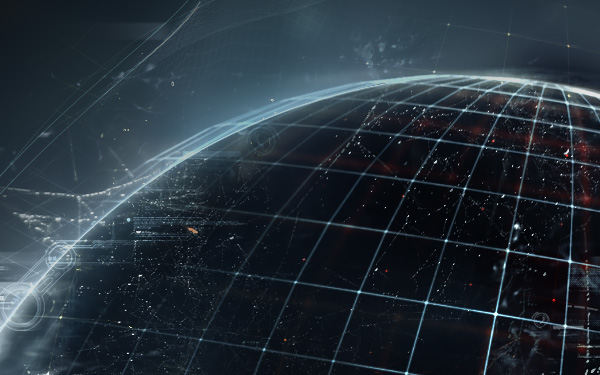 luminarium cybernetic kibernetik Cyberpunk digital Information Technology dark wallpaper skull