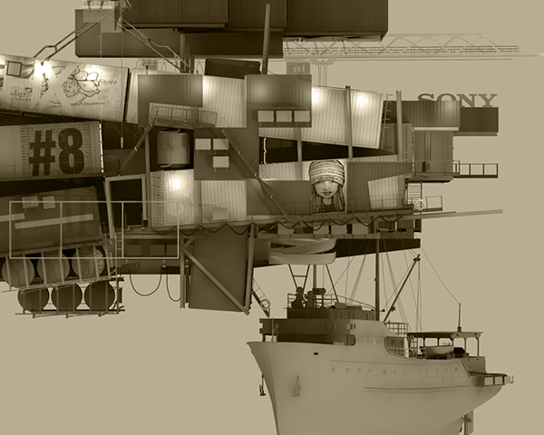 new makoko lagos nigeria container Container City city 3D 3d printing circular industry