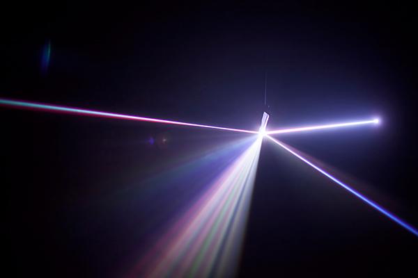 interactive light Space  media arts perception