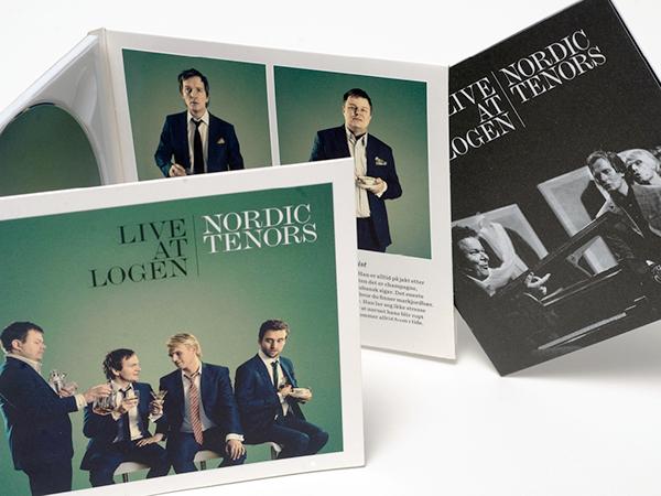 visual identity photo tenors cd print