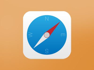 Apps Icons Ios 7 Ios 7 Safari App Icon Redesign