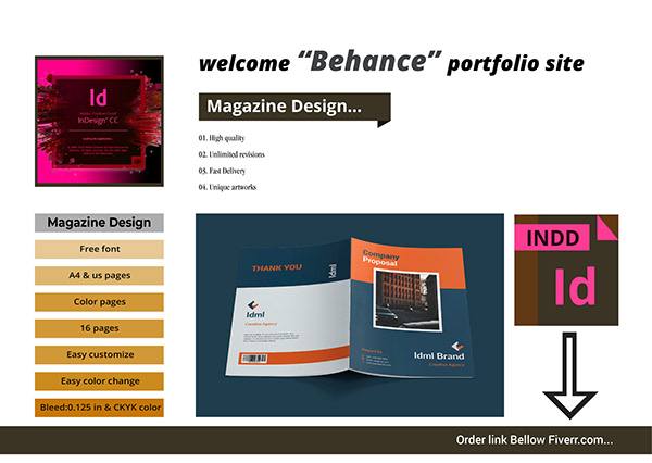 Business Magazine, Company Proposal