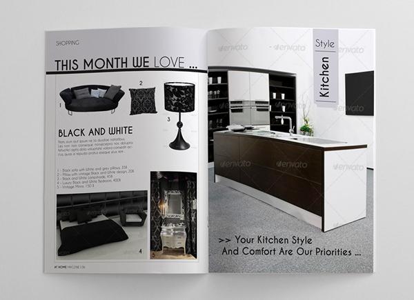 Interior Design Magazine: Interior Design Magazine Template On Behance