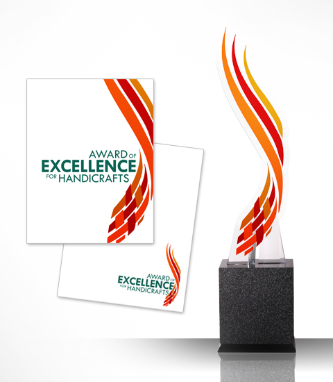 Award Of Excellence For Handicrafts On Behance