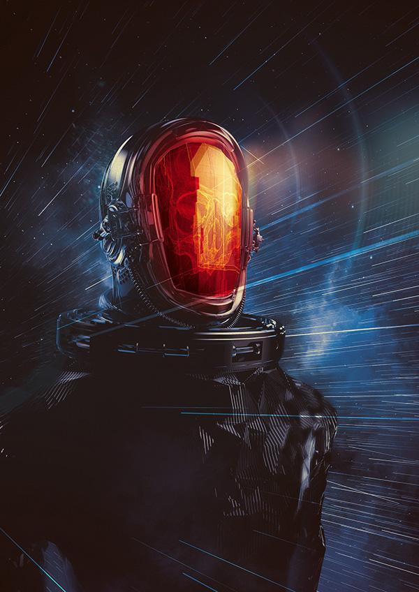 Astro Metal Front by Flavio Montiel