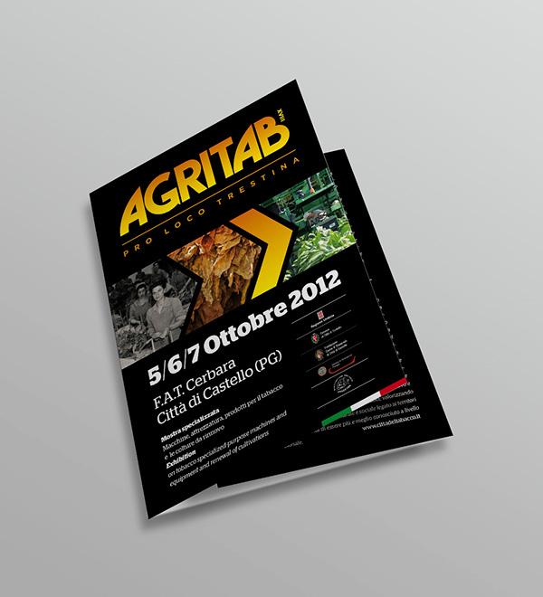 Agritab raffinerie poster folder