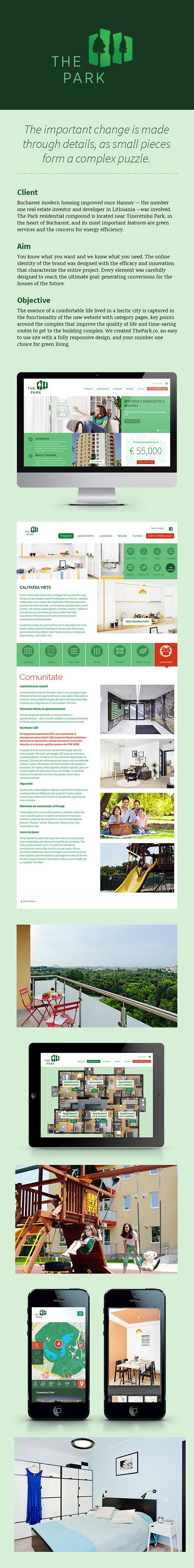The Park - Website