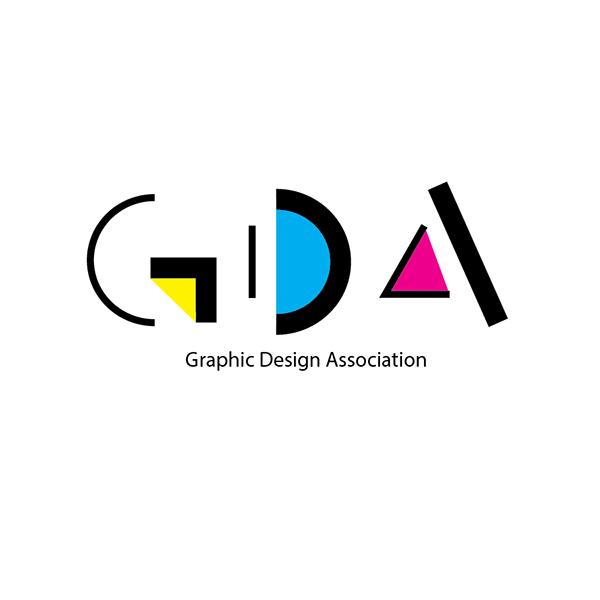 Graphic Design Association Logo On Student Show