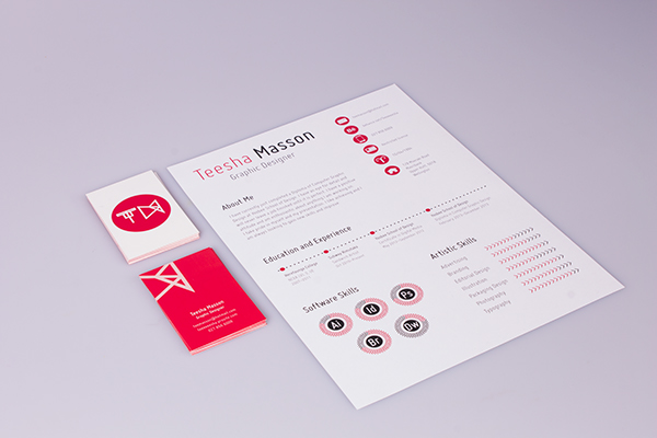 Self Branding CVResume on Behance