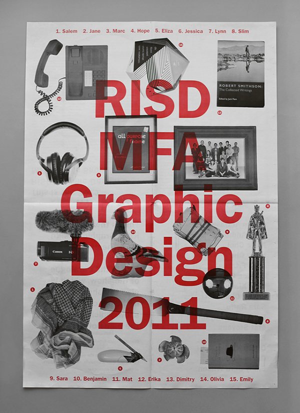 Risd mfa thesis exhibition 2011