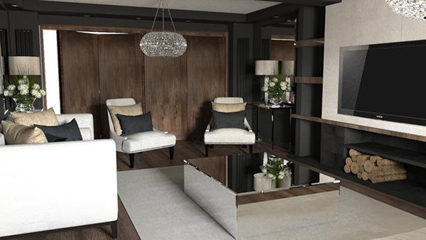 有創意感的34款客廳牆壁顏色欣賞