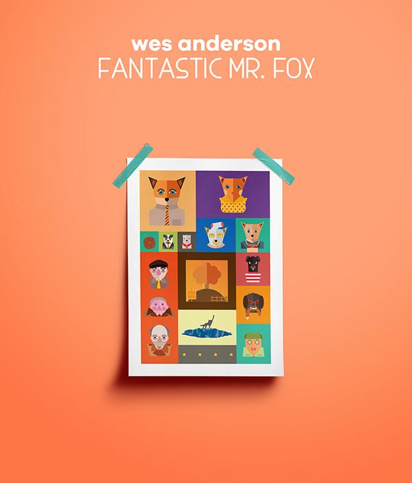 Fantastic Mr Fox On Pantone Canvas Gallery
