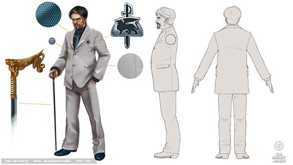 D Amp D Character Design Sheet : Tsw character design model sheet on behance