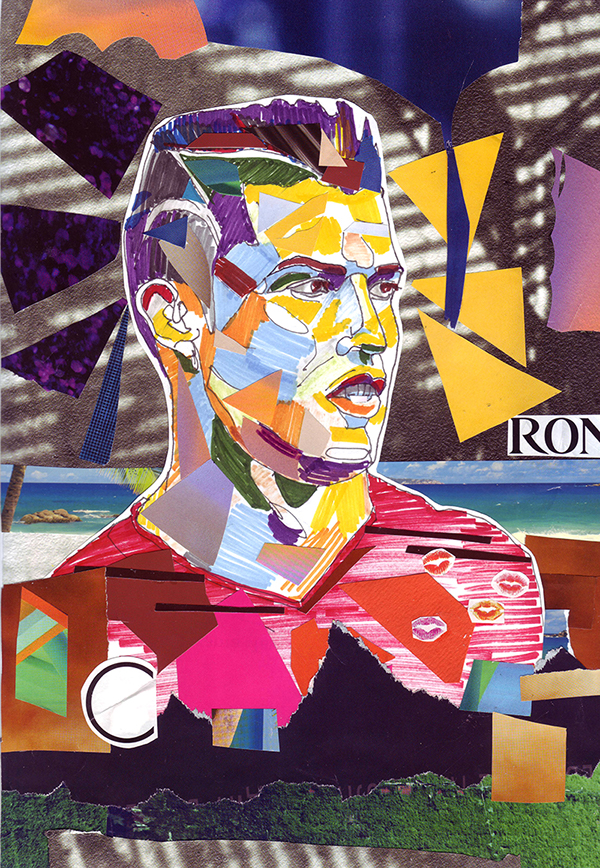 collage poster art design decoration