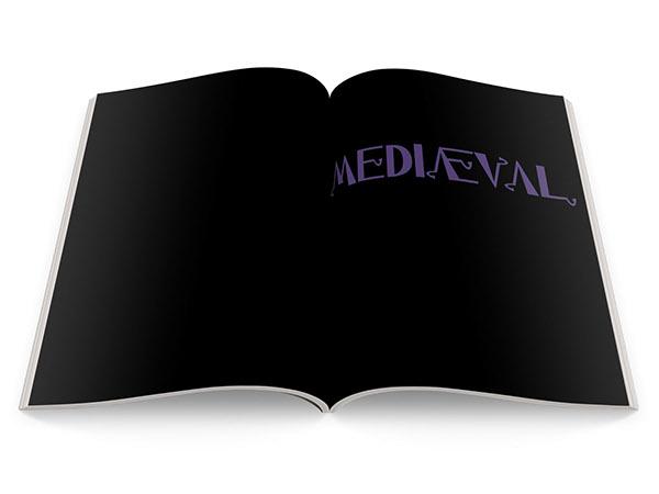 Media Kit custom typeface