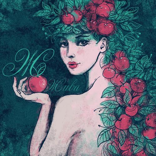 girl flower art color Beautiful