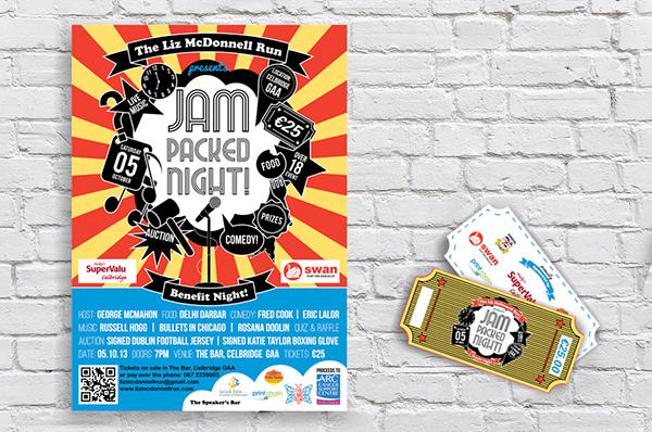 Event brand identity Website Design posters charity Fun cartoon